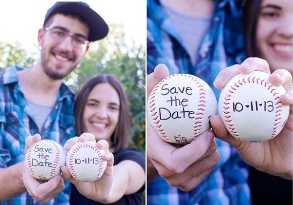 Фото-приглашение с мячиком