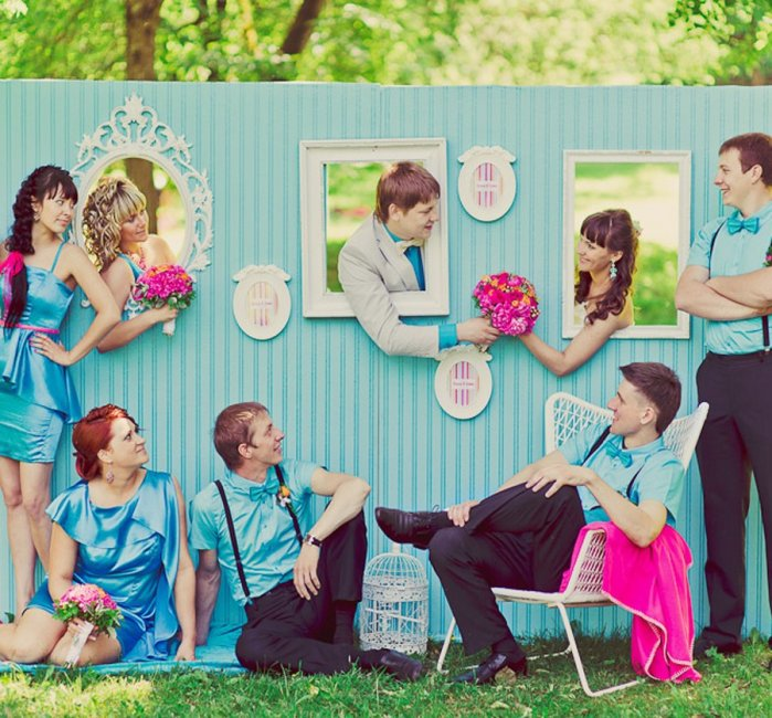 Идеи для свадебной фотозоны своими руками 43