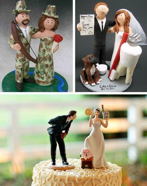 Индивидуальные фигурки на торт
