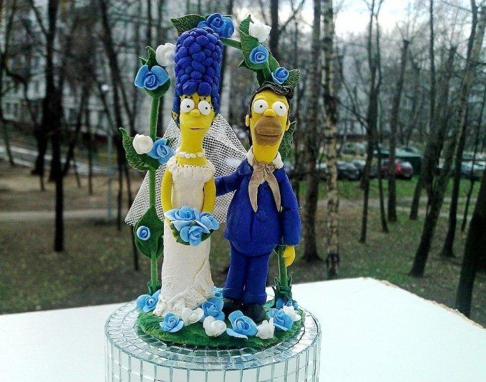 Симпсоны для торта