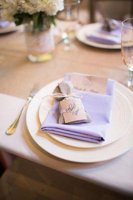 Свадебные аксессуары для сиреневой свадьбы