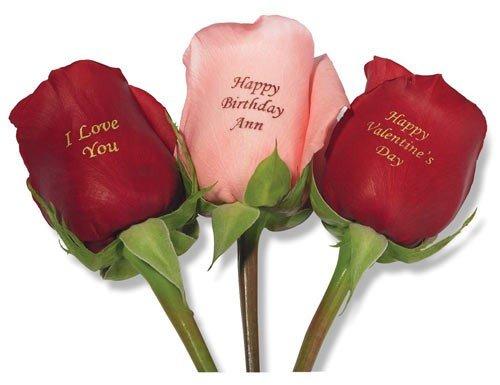 Надпись к подарку цветок 393