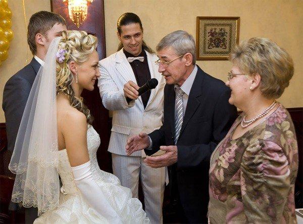 Поздравления на свадьбе от молодоженов родителям на