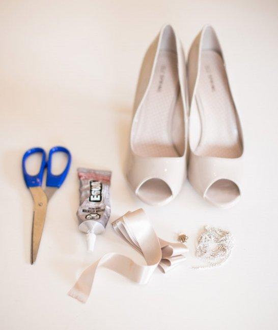 Как сделать банты для туфель