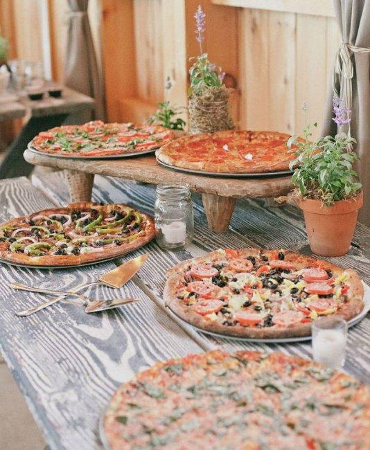 Pie station wedding