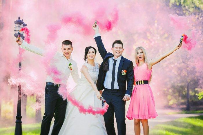 Все для цветной свадьбы