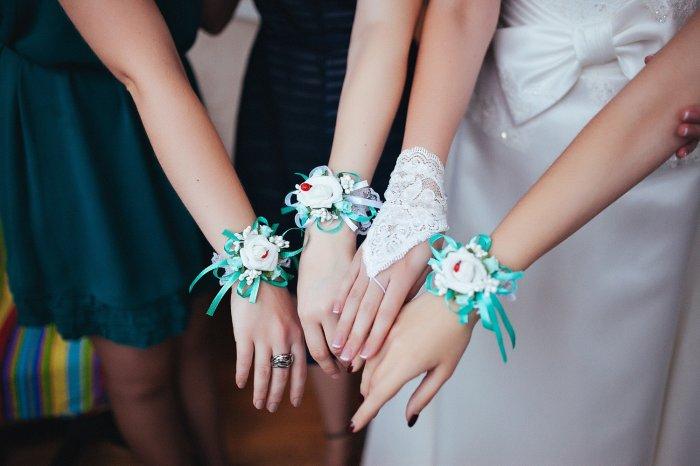 Браслет для подружки невесты как сделать