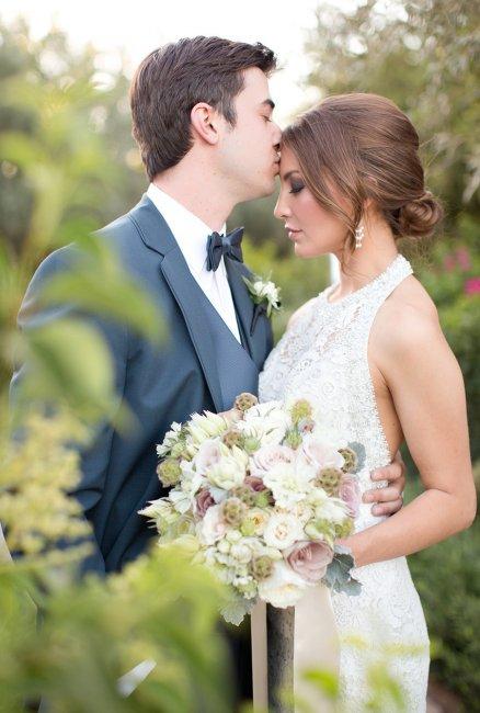 Нежные моменты свадьбы