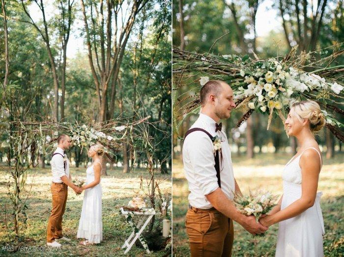 Лето - отличное решение для свадьбы