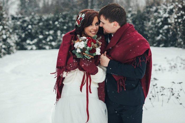 Снежная январьская свадьба