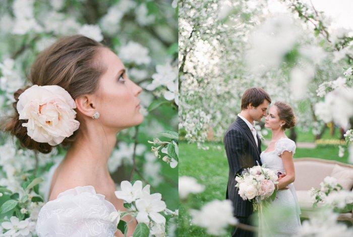 Очарование весенней свадьбы