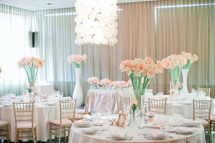Декор весенней свадьбы