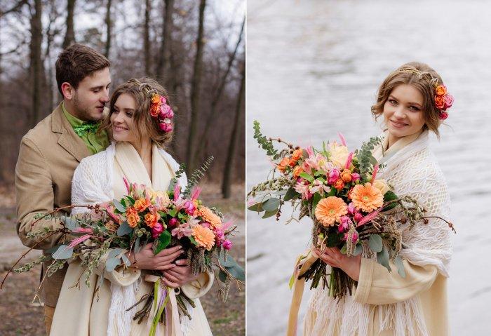 Свадьба ранней весной
