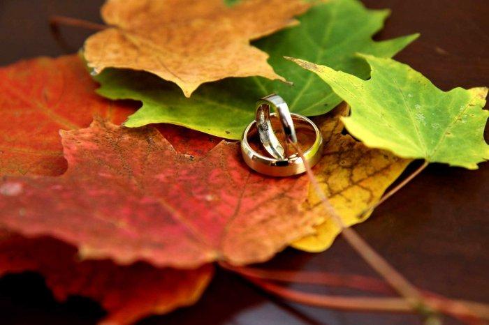 Осень - прекрасное время для свадьбы