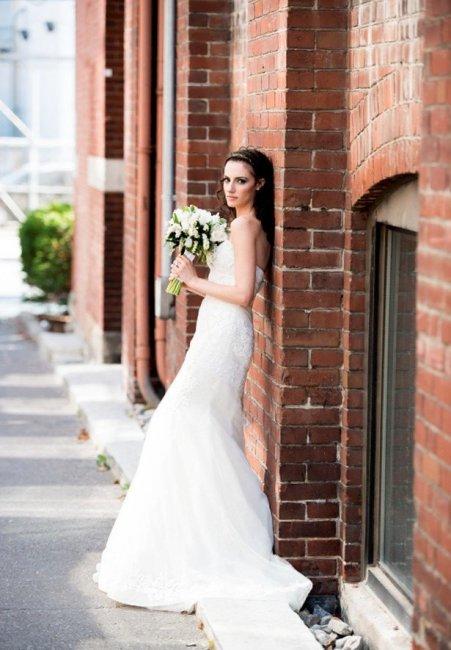 Невеста в стиле урбан-шик