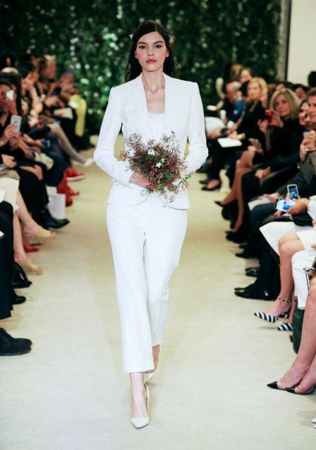 Свадебный костюм для невесты в стиле урбан-шик