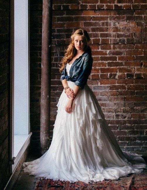 Образ невесты в стиле лофт
