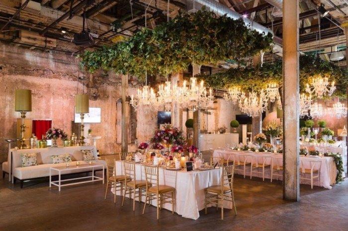 Модный лофт для свадьбы