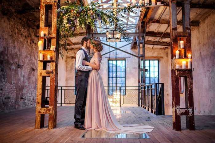 Декор помещения для свадьбы