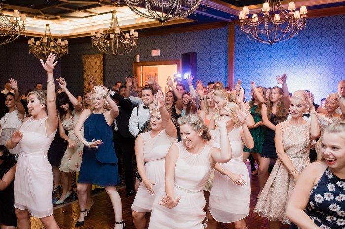 Флешмоб на свадьбе
