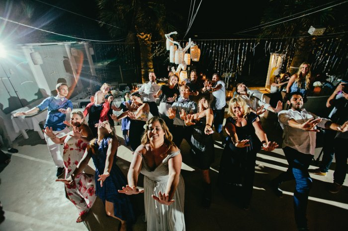 Флэшмоб на свадебном торжестве