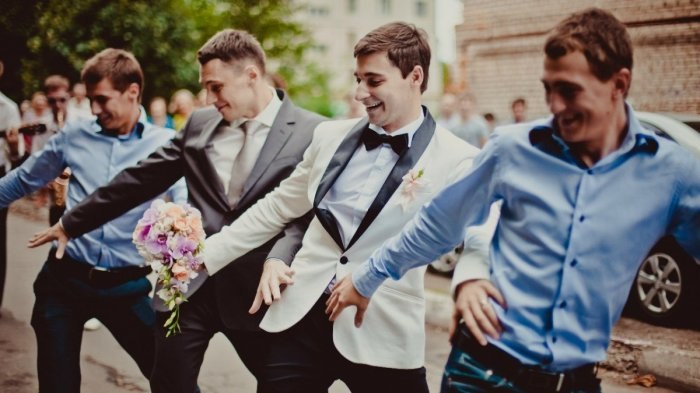 Флешмоб на выкупе невесты