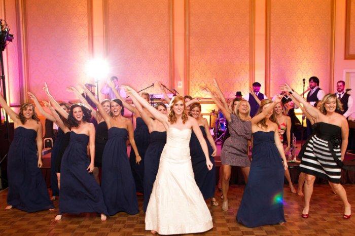 Флешмоб невесты и ее подружек