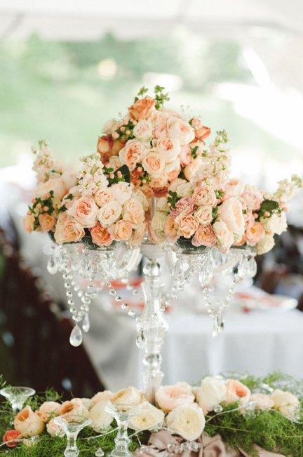 Флористика в свадебном декоре