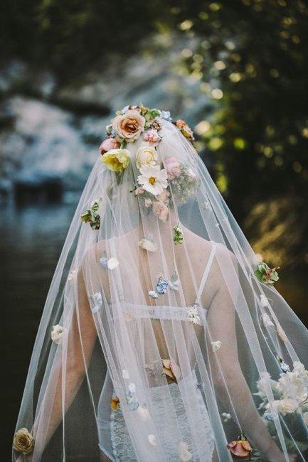 Фату для невесты своими руками 938