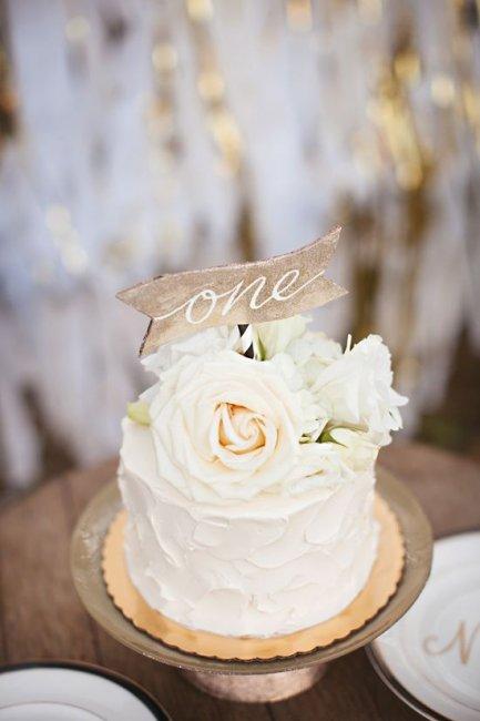 Торт для первой годовщины свадьбы