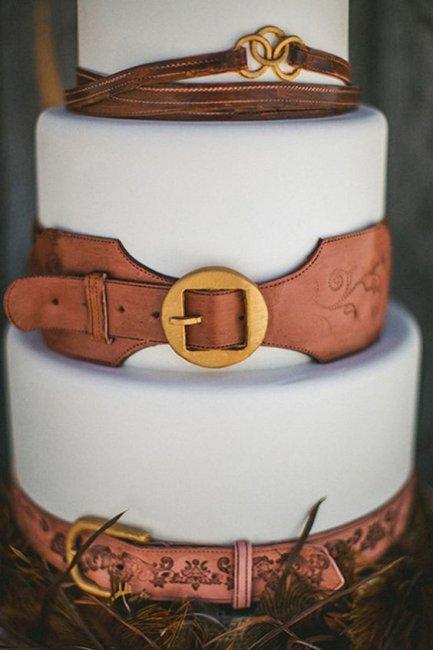 Кожаный торт