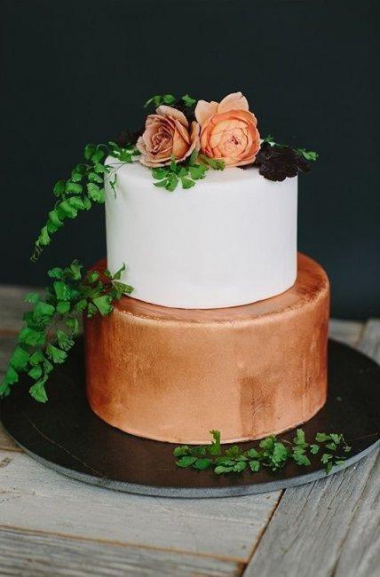 Торт для медной свадьбы