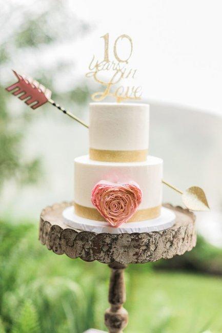 Торт для 10 годовщины свадьбы