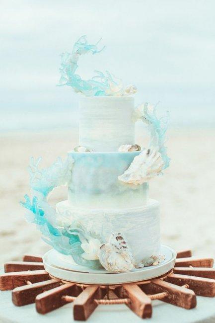 Торт на коралловую годовщину