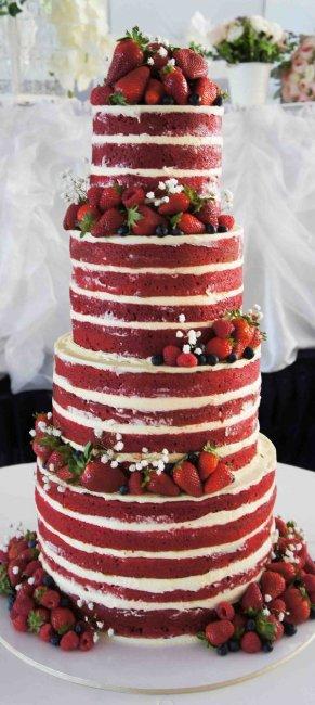 Торт на рубиновую годовщину
