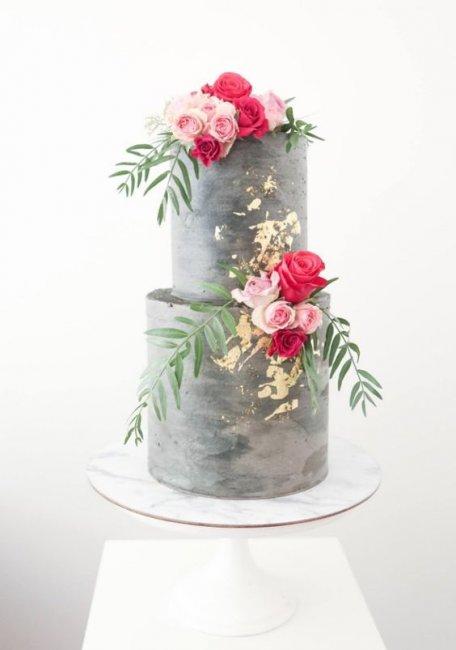 Торт на 25-летие брака