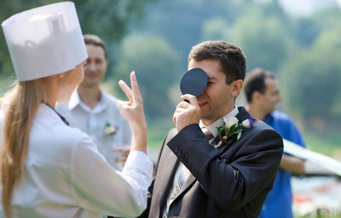 Сценарий на выкуп невесты в медицинском стиле сценарий