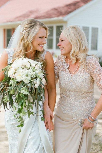Как одеты мамы невест на свадьбах