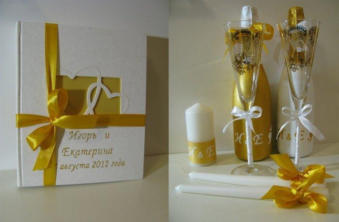 Сувениры на золотую свадьбу своими руками 6