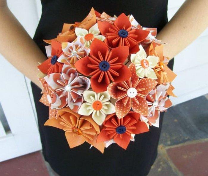 Как сделать красивый букет цветов своими руками 74