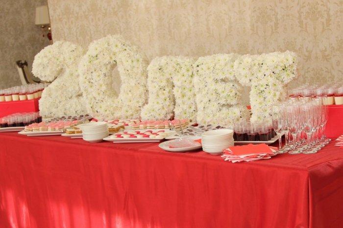 Буквы на свадьбу своими руками из салфеток
