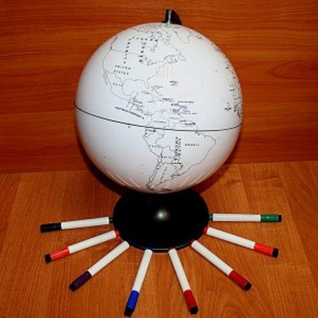 Глобус для путешественников подарок