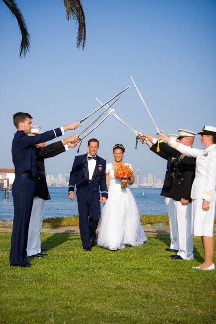 Свадьба в стиле морфлот