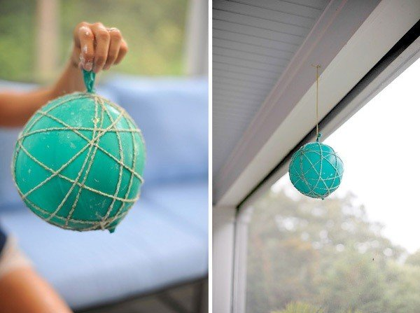 Как сделать подвесные шары