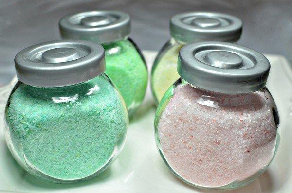 Фото соли для ванны своими руками