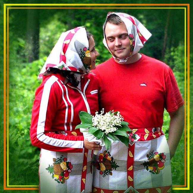 Прикольный подарок на ситцевую свадьбу