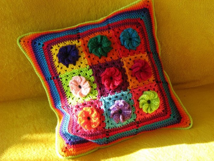 Связать бабушкину подушку
