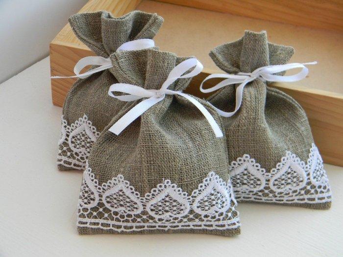 Подарочные мешочки своими руками из ткани