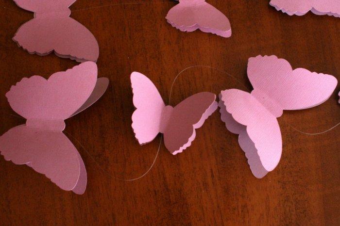 Бабочки своими руками из бумаги мастер класс