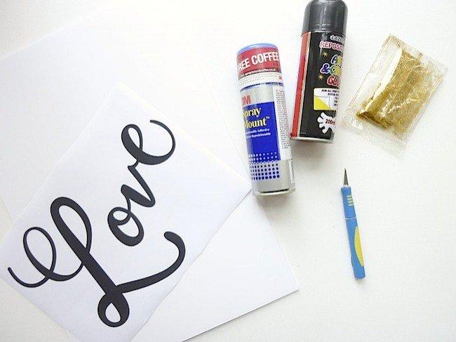 Как сделать красивую надпись от руки